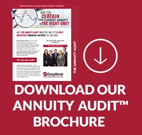 CorpStrat annuity audit brochure